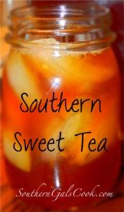 Sweet Tea- SouthernGalsCook.com
