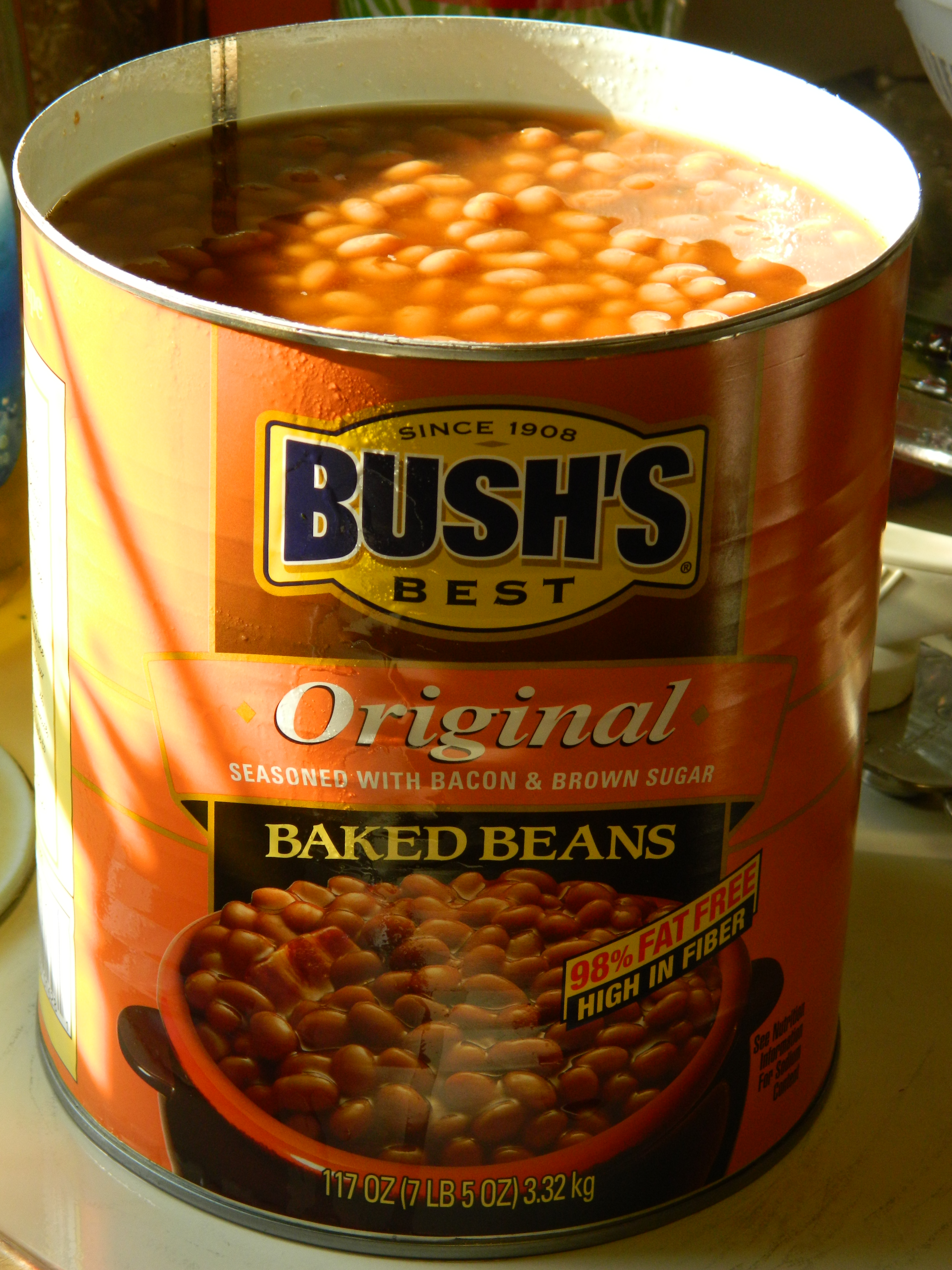 bush's baked beans can sizes