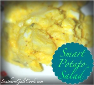 Smart Potato Salad- SouthernGalsCook.com